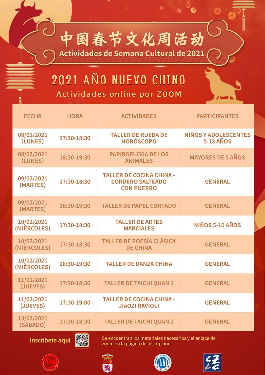 Semana Cultural Año Nuevo Chino 2021 - imagen 4